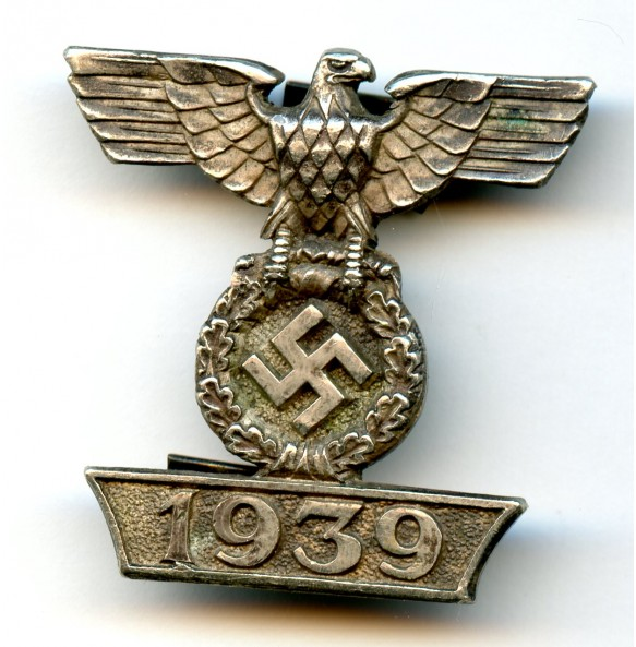 Iron cross clasp 2nd class by C.E. Juncker, 1st model