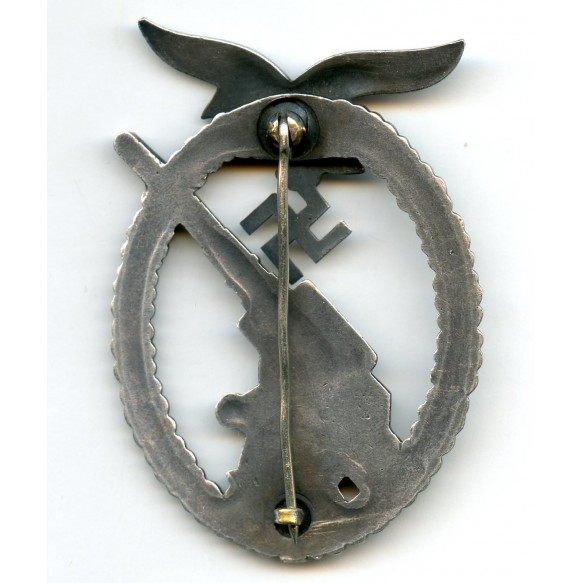 "Luftwaffe flak badge ""ballhinge"""