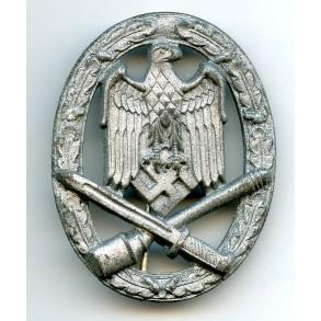 General assault badge by W. Deumer, Lüdenscheid
