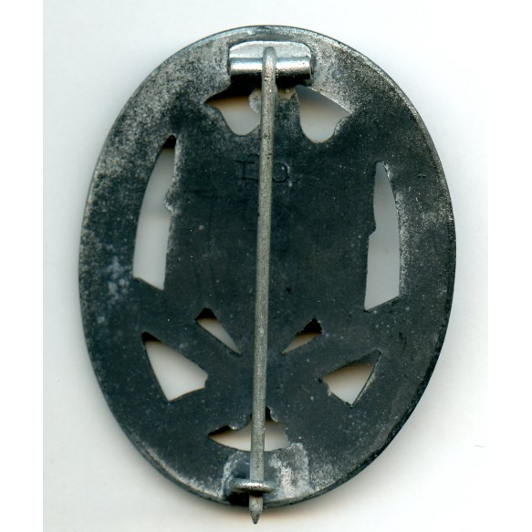 General assault badge by F. Orth, Wien
