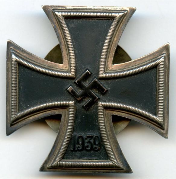 "Iron cross 1st class by C.F. Zimmermann ""L/52"" screwback"