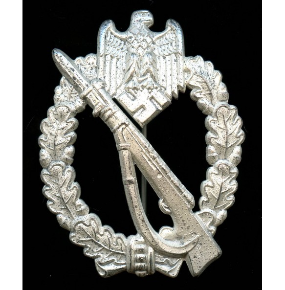 "Infantry Assault Badge in silver by Josef Feix & Söhne ""JFS"""