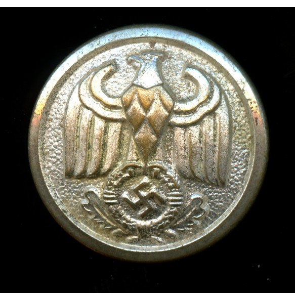 "Silver button for diplomatic uniform by Assmann & Söhne ""A"""