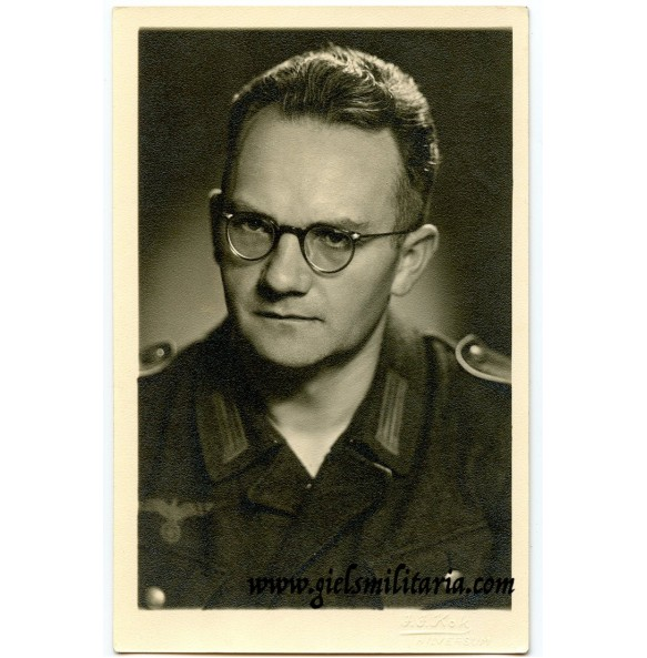 Portrait schütze, taken in Hilversum, Holland, October 1944