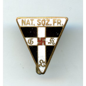 National Socialist Women's League staff badge miniature by Steinhauer & Lück