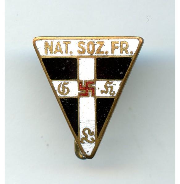 National Socialist Women's League staff badge miniature by Steinhauer & Lück