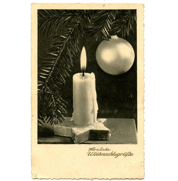 Period Christmas card 1942