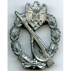 "Infantry assault badge in silver by Funcke & Brüninghaus ""L/56"""