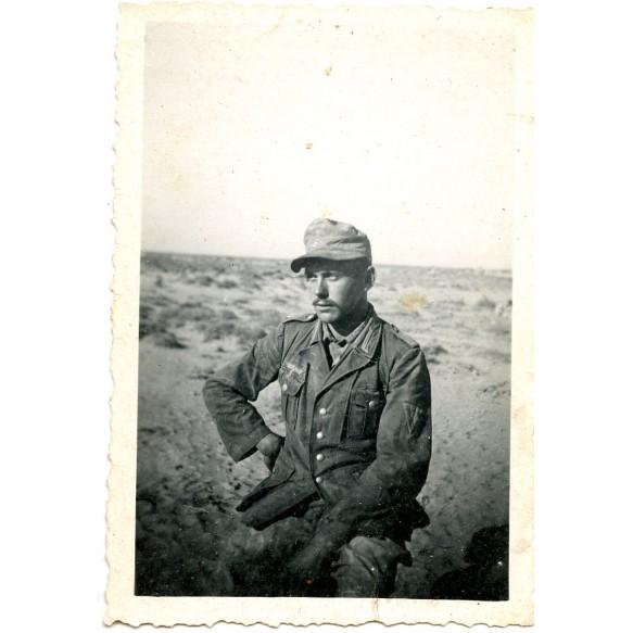 Private snapshot Afrikakorps soldier