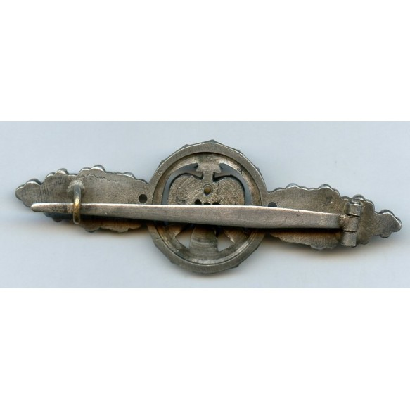 Luftwaffe fighter clasp in silver by C.E. Juncker