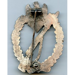 Infantry assault badge in silver by Deschler & Sohn