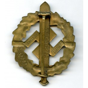 SA sport badge in bronze by L. Christian Lauer #11291 early variant!!
