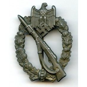 Infantry assault badge in bronze by E.F. Wiedmann