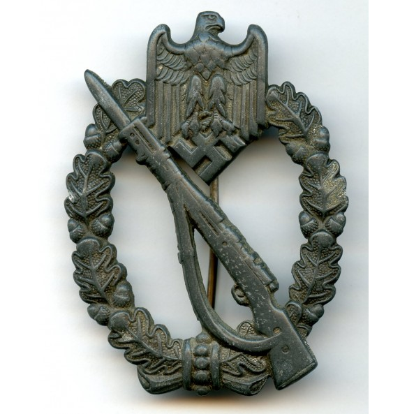 "Infantry assault badge in silver by Josef Bergs & Co. ""JB&Co"""
