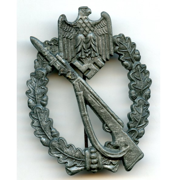 Infantry assault badge in silver by M.K.6