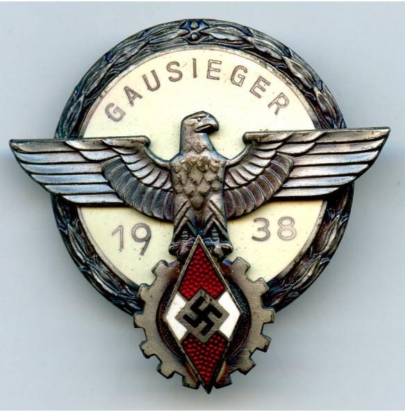 Gausieger badge 1938 by G. Brehmer