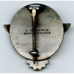 Gausieger badge 1938 by G. Brehmer