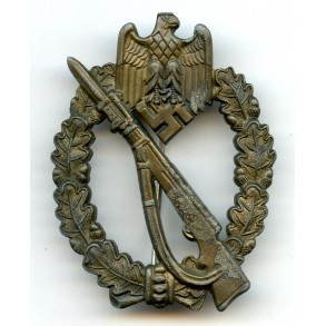 Infantry assault badge in bronze by M.K.1