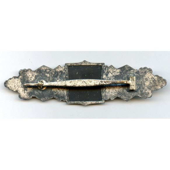 "Close combat clasp in silver by Funke & Brünninghaus ""F&BL"""