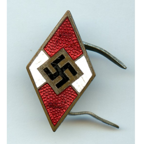 "HJ knife diamond pin pin by W. Borgas ""M1/23"""