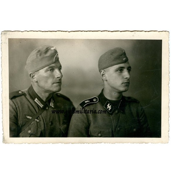 SS Portrait LSSAH member with father