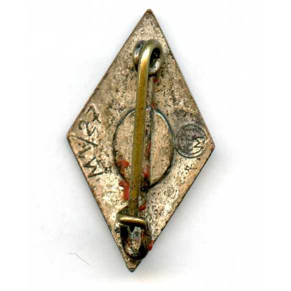 "HJ membership diamond pin by E. Müller ""M1/27"""