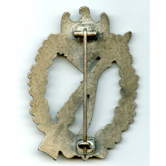 Infantry assault badge in silver by Carl Wild