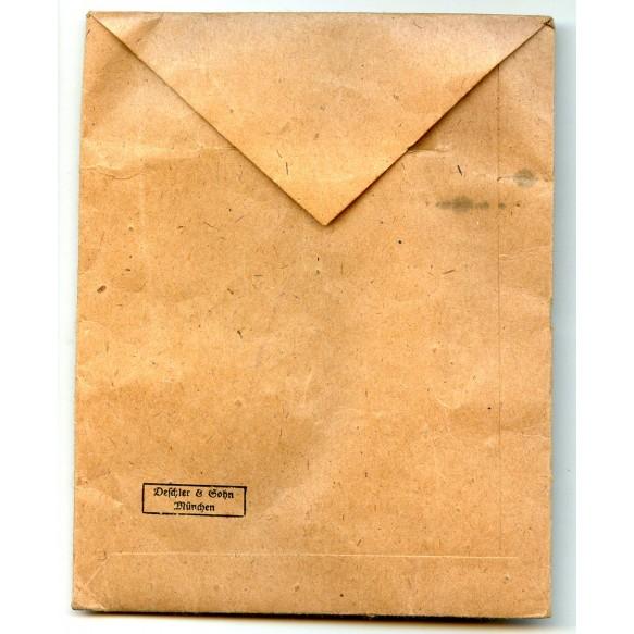 War merit cross 2nd class with swords envelope by Deschler & Sohn