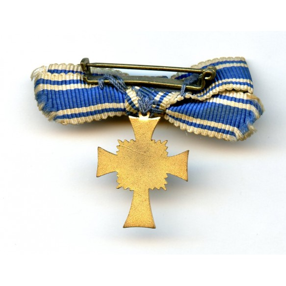 Mother cross in gold miniature