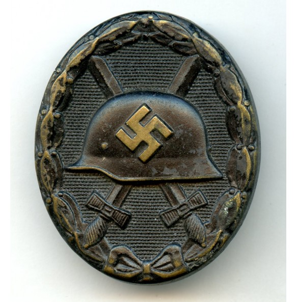Wound badge in black by unknown maker