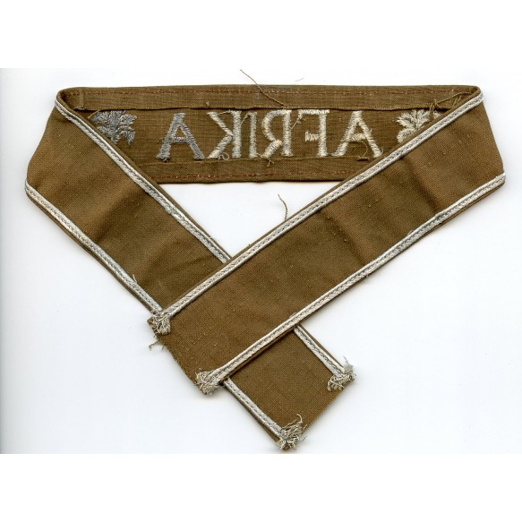 Afrika cufftitle, brown CANVAS variant
