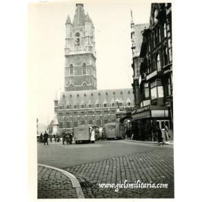 Period snapshot of Ghent, Belgium 1940