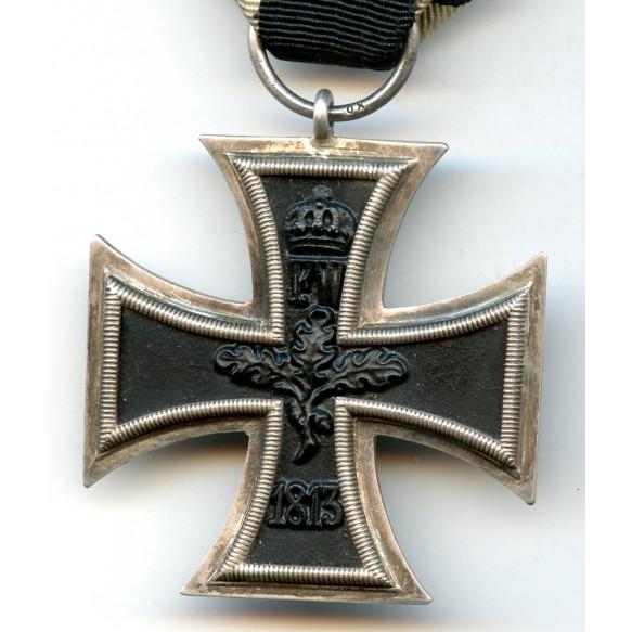 WW1 Iron cross 2nd class with Iron Cross clasp 2nd class by Ziemer