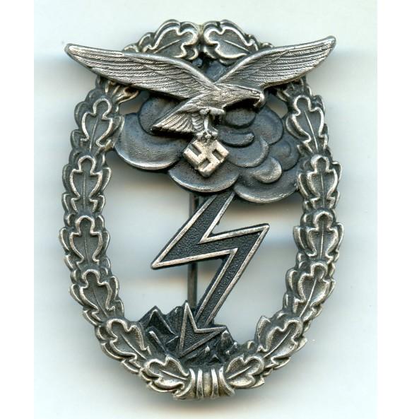"""Luftwaffe ground assault badge by G. Brehmer """"G.B."""""""