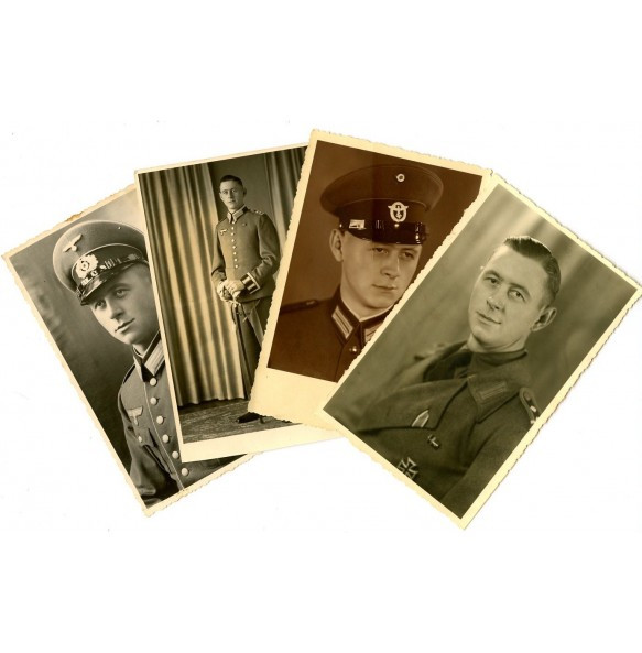 4 portraits to one man, Decorated self-propelled artillery member