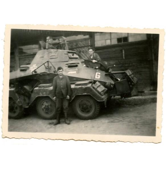 Private snapshot Schwerer Panzerspähwagen