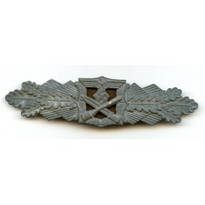 Close combat clasp in silver by Steinhauer & Lück