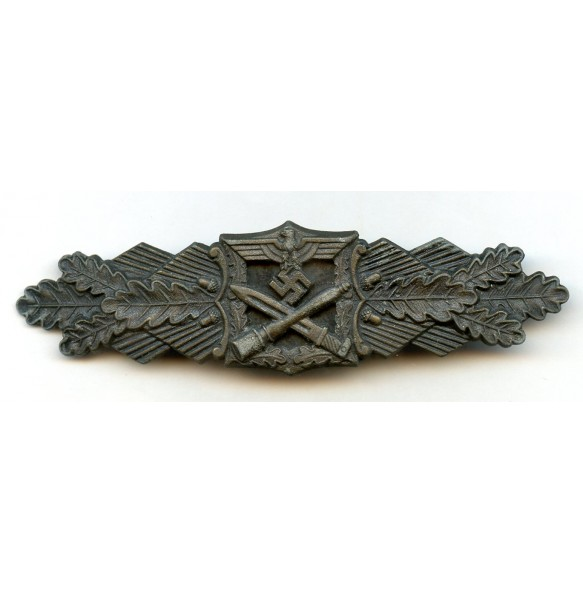 "Close combat clasp in bronze by Josef Feix ""JFS"""