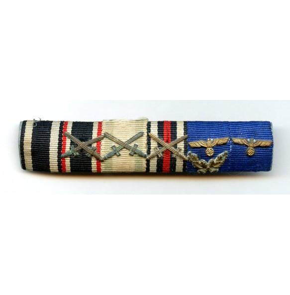 Ribbon bar with army 40 year service award