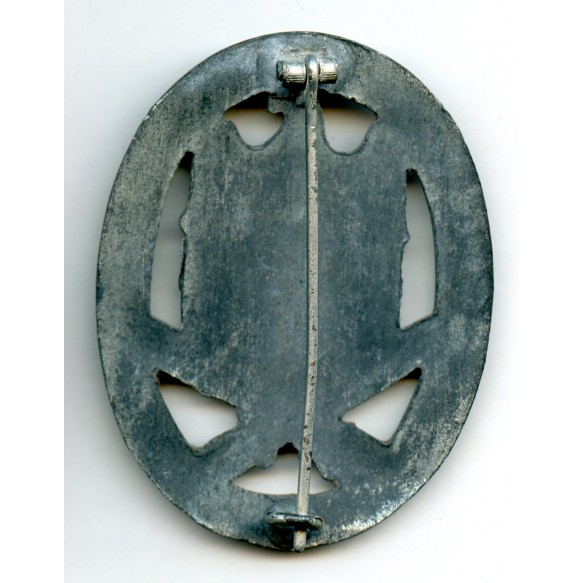General Assault Badge in silver by R. Karneth