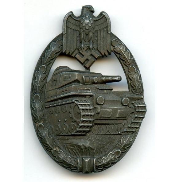 """Panzer assault badge in bronze """"Juncker set-up variant"""""""