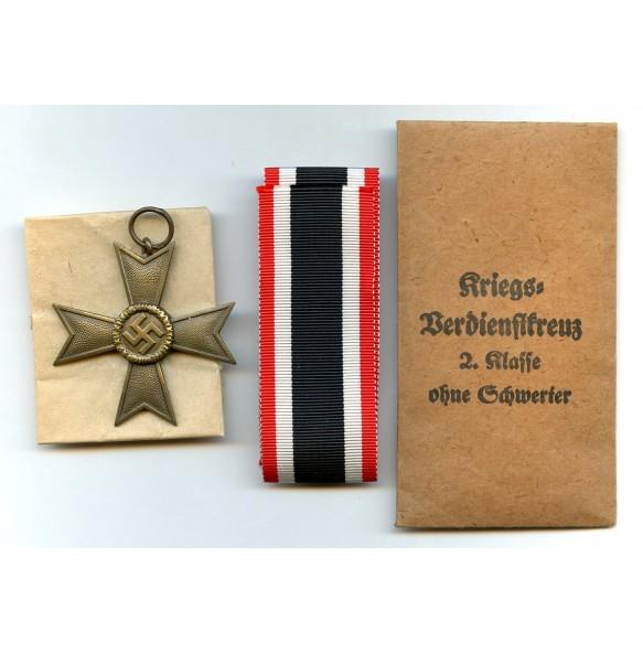 """War merit cross 2nd class by Deschler & Sohn """"1"""" + package"""