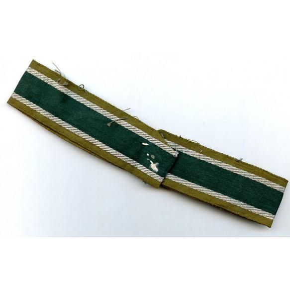 """""""Afrikakorps"""" cuff title, uniform worn example"""