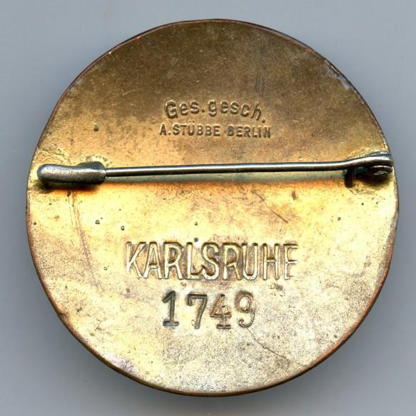 """DRK """"Schwesterschaft"""" enamel pin """"Karlsruhe 1749"""""""