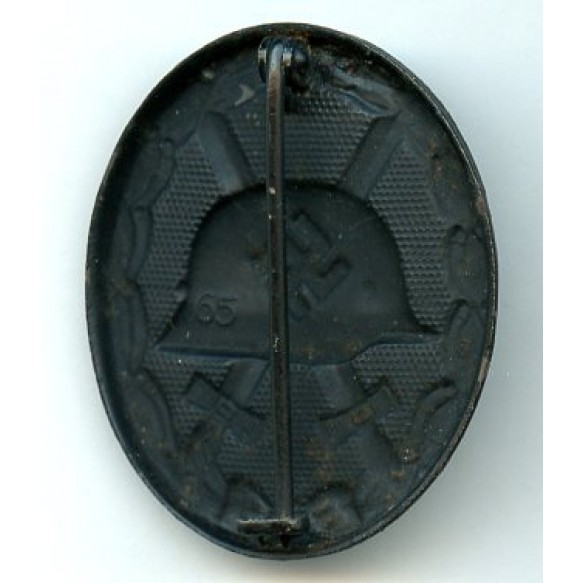 "Wound badge in black by Klein & Quenzer ""65"""