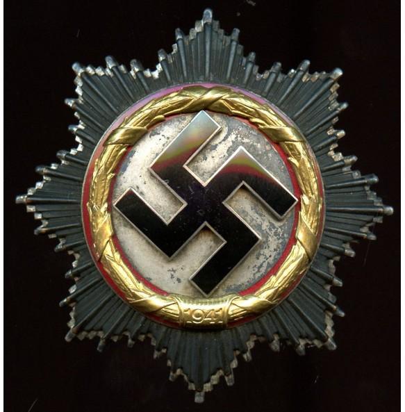 German cross in gold by Deschler & Sohn, heavy variant!