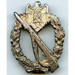 "Infantry Assault Badge in silver by J. Feix ""JFS"""