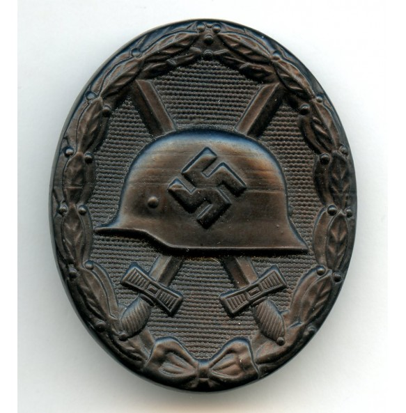 """Wound badge in black by Oberhoff & Cie """"81"""""""