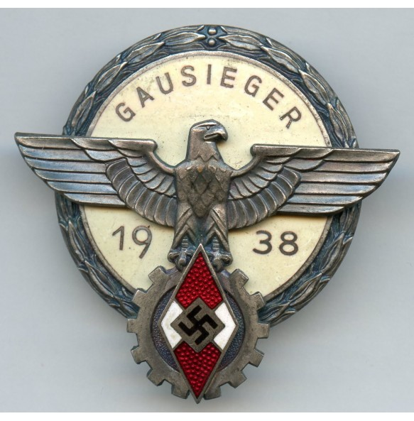 HJ Gausieger badge 1938 by Gustav Brehmer
