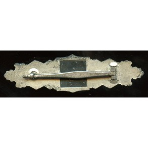 "Close combat clasp in silver by J. Feix ""JFS"""